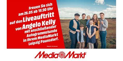 angelo kelly  im mediamarkt leipzig paunsdorf