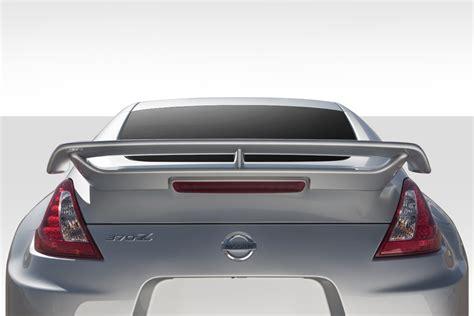 scion cube interior 2009 2018 nissan 370z z34 duraflex n 4 rear trunk wing