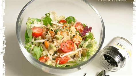 comment cuisiner les germes de soja frais salade de crabe abricots frais avocat et germes de soja