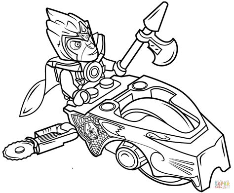 Lego Chima Speedorz Coloring Page