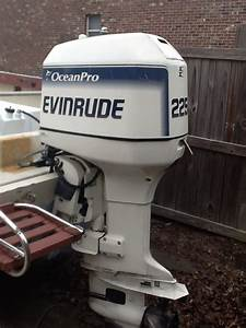 1996 Evinrude 225 Ocean Pro - The Hull Truth