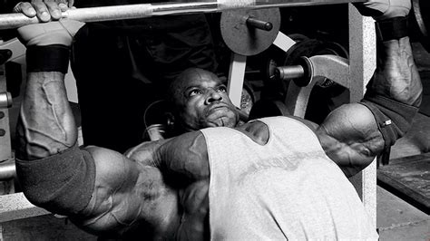 ronnie coleman chest training