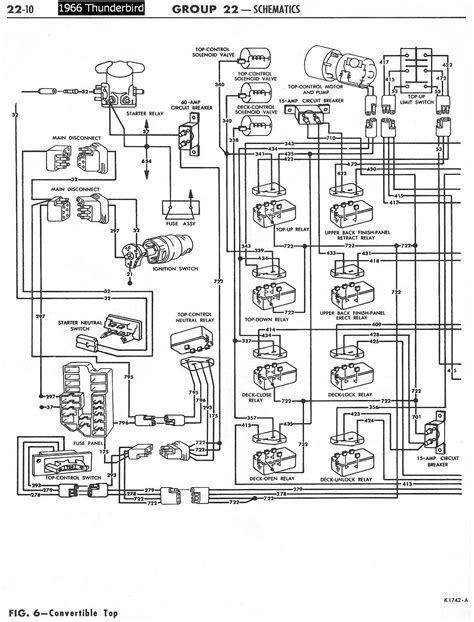 1960 Thunderbird Wiring Schematic by 1958 68 Ford Electrical Schematics