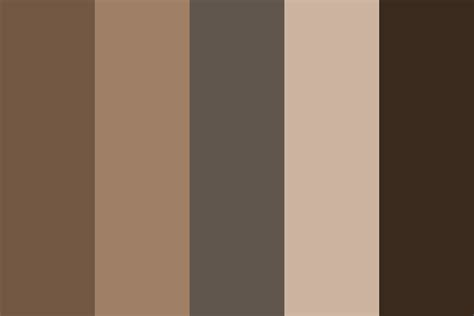 is this gray or brown color palette