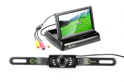rückfahrkamera mit monitor esky 174 auto 4 3 quot faltbarer farb tft lcd monitor nachtsicht