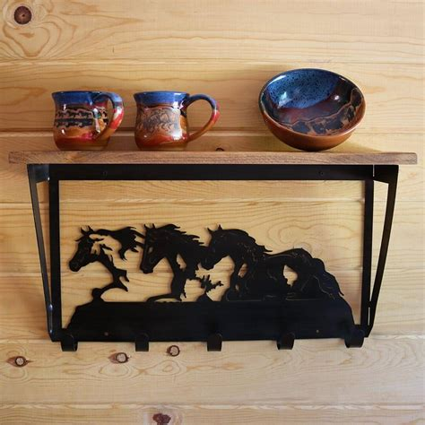 western sculpture coffee table cabin place