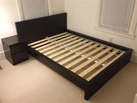 queen bed ikea malm queen bed frame kmyehai com