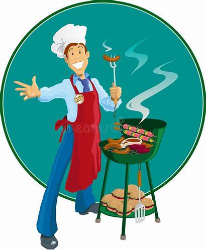 Barbeque Grill Apron Royalty Chef Cooking Dreamstime