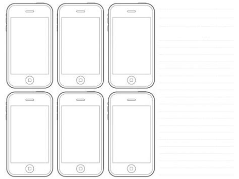 sketch ios template iphone printable template search computer rm templates sketching and