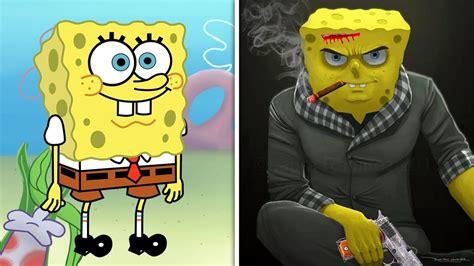 Cartoon Characters As Villains! ( New Evil Cartoons
