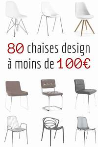 Chaise design pas cher 80 chaises design a moins de 100eur for Deco cuisine avec ou trouver des chaises
