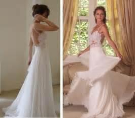 affordable wedding dress designers chiffon wedding dresses sheer v neck flowing vintage boho bridal dress vintage