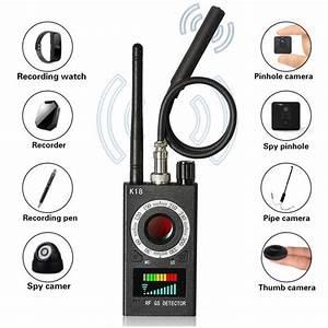 K18 Camera Finder Anti Camera Rf Scanner Anti