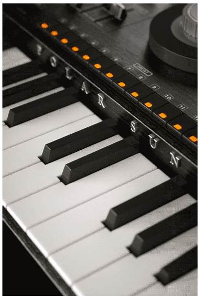 Keyboard Instrument Giphy Blobby Gifs Synthesizer Barack