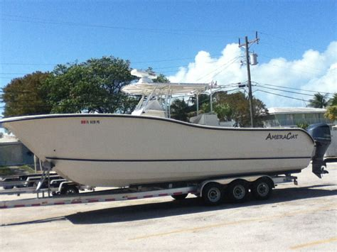 Ameracat Boats by 2012 Ameracat 31 For Sale The Hull Boating And