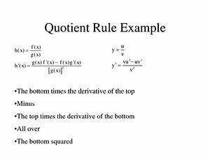 quotient rule formula - DriverLayer Search Engine