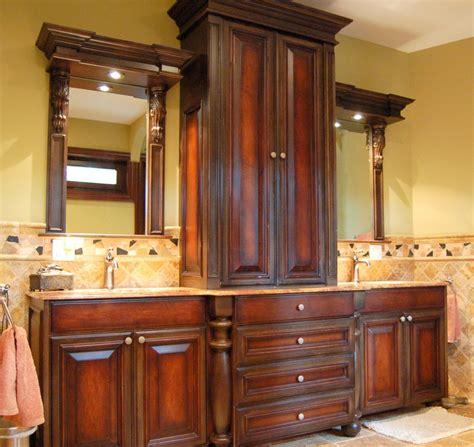 custom bathroom cabinets tbg remodeling kitchen and bath milwaukee wi area
