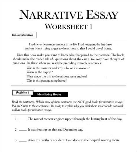 essay outline templates   narrative essay