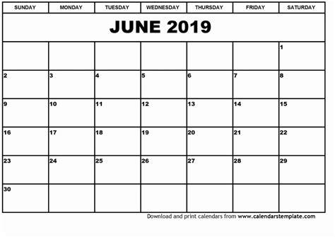 2019 Calendar Template Sle Printable Calendars 2019 October 2019 Calendar