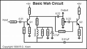 developing crybaby guitar wah effect based on integrated With the transistor lat