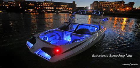 Axis Boat Underwater Lights by Centurion Boats New Racecar Inspired Fx 22 With Hammerhead