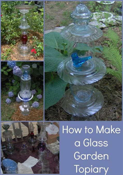 how to make glass l glass totem tutorial my repurposed life