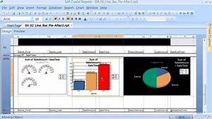Sap Crystal Reports  Charts And Graphs Tutorial