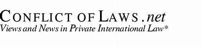 Conflict Law Laws Menu