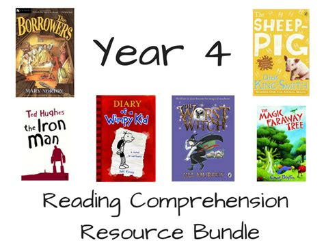 year 4 reading comprehension bundle by