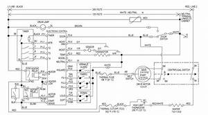 Kenmore 90 Series Electric Dryer Wiring Diagram