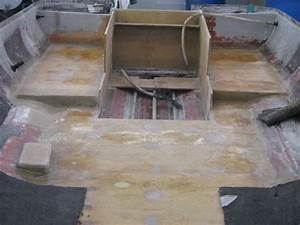 new transom floor and stringers starboard marine repair With fiberglass boat floor repair