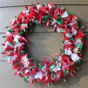 Ribbon Wreath Creative Ideas for DIY Wreaths