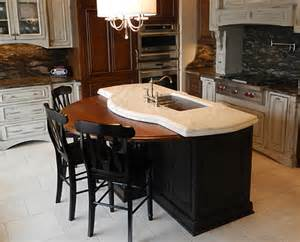 kitchen island wood top wooden kitchen island top traditional kitchen other by j aaron custom wood countertops