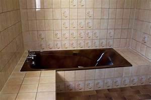 peinture resinence salle de bain meilleures images d With peindre une baignoire en resine