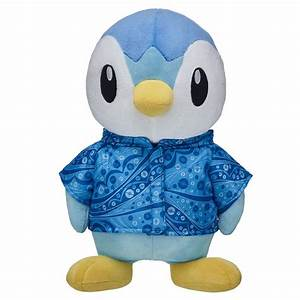 Build A Bear Fully Releases Pokemon Piplup Plush The