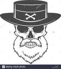 Skull Head with Beard