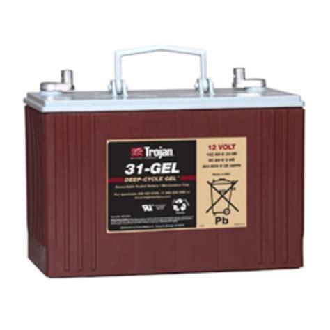 Trojan Battery Company DeepCycle Sealed Gel 31 .