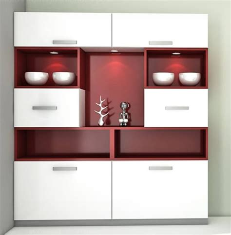Kitchen Designs Ideas Photos - modern crockery cabinet designs
