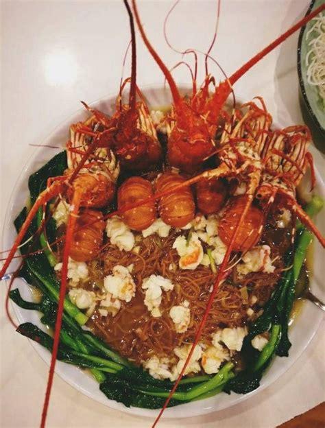 lobster dragon seafood miri noodles restaurant birthday happy classic hunt mrs boss 2kg