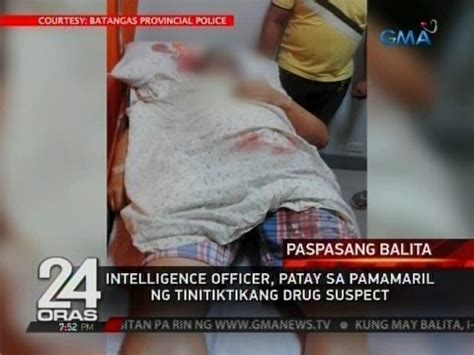 intelligence bureau sa intelligence officer patay sa pamamaril ng tinitiktikang