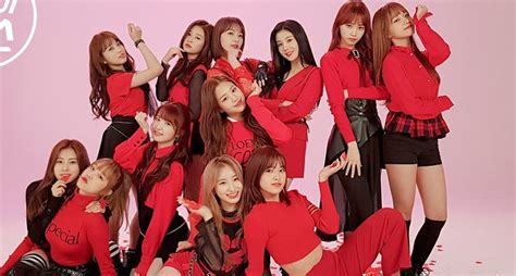 Iz*one Are Visions In Red In Relay Dance Version Of 'la