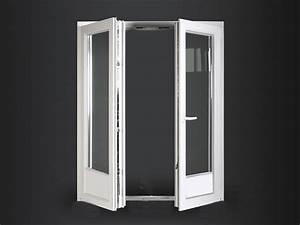 Porte Fenetre Pvc 2 Vantaux : porte fen tre pvc ob 2 vantaux seuil plat 20mm easy ~ Nature-et-papiers.com Idées de Décoration