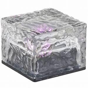 Eiswürfel Ohne Form : 6 x led solar au en leuchten rgb bunt deko glas eis w rfel garten lampen ip44 ebay ~ Fotosdekora.club Haus und Dekorationen