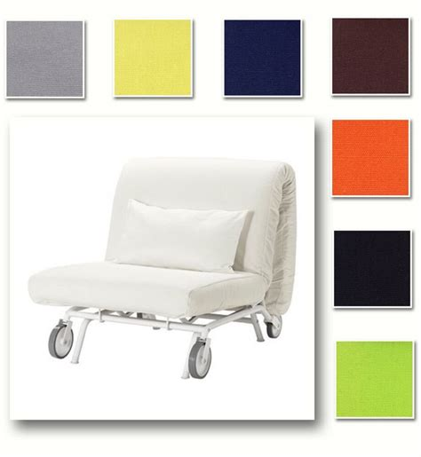 custom  cover fits ikea ps lovas chair bed replace sleeper cover  fabric ebay