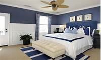 master bedroom paint colors Bed rooms with blue color, calming bedroom paint colors ...