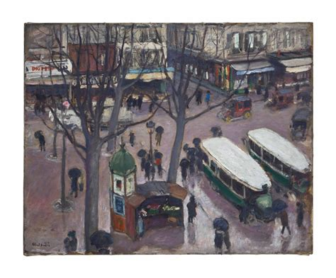 albert andre french   les autobus place pigalle christies