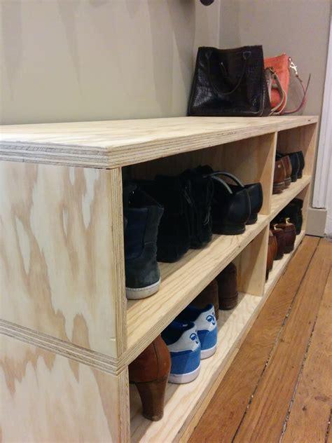 meuble chaussure bois