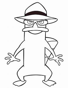 Perry The Platypus Coloring Pages - GetColoringPages.com