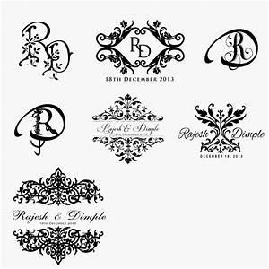 beautiful wedding invitation logo design wedding With wedding invitation cards logos