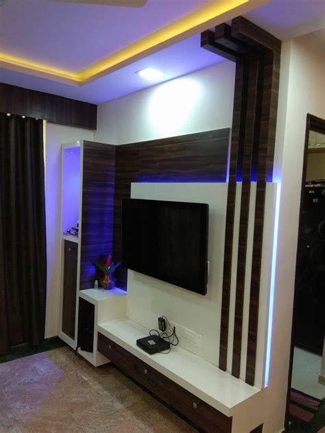 Tv Unit Designs In The Living Room  Kumar Interior